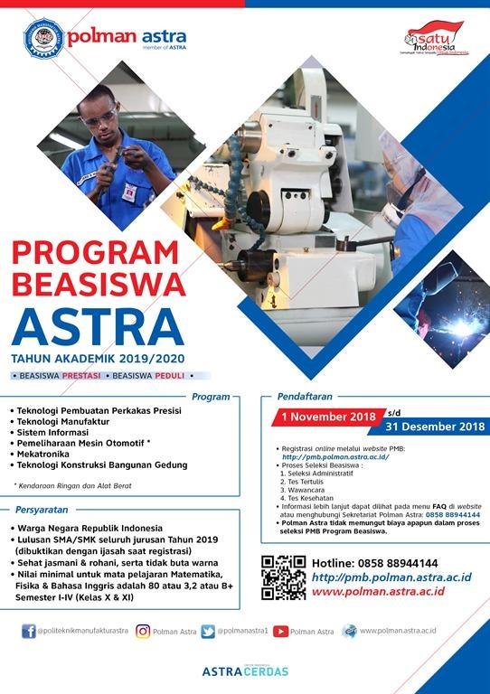 Beasiswa Program ASTRA
